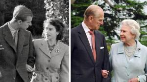 Las fotos más románticas de los 70 años de matrimonio de Isabel de Inglaterra y Felipe de Edimburgo