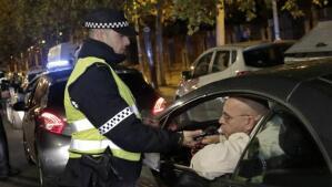 Noche de fuerte presencia policial y numerosos controles de alcoholemia