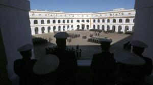 Toma de posesión del nuevo General Comandante del Tercio de Armada
