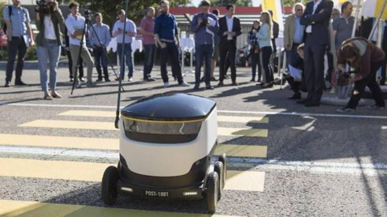 San Francisco dice «no» a los robots que reparten a domicilio