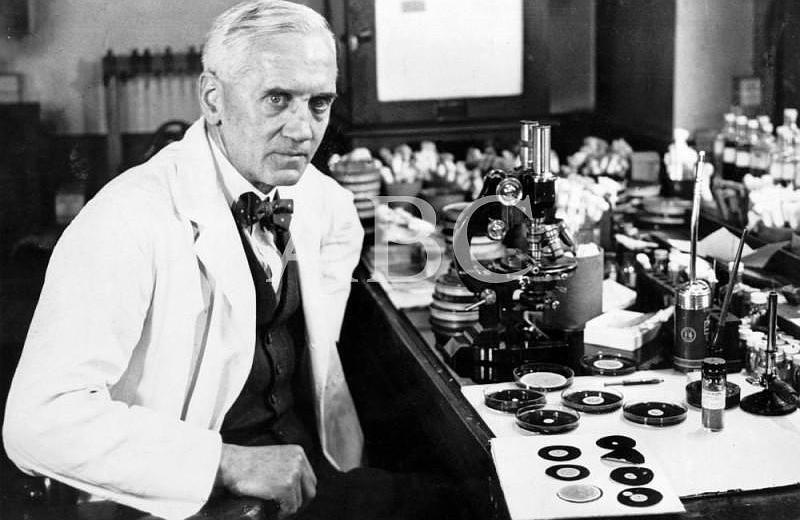 Fleming, el descubridor de la penicilina