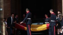 Izado de bandera en Capitanía por el Día de las Fuerzas Armadas