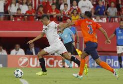 El encuentro entre el Sevilla FC y el Istambul Basaksehir, en imágenes