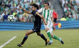 Las mejores imágenes de la victoria del Betis ante el Deportivo (2-1)