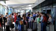 Caos en los aeropuertos de Londres