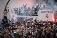 Así celebró el Real Madrid la Undécima en Cibeles