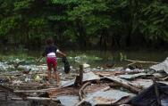 La huella del huracán Matthew tras su paso por Haití y República Dominicana