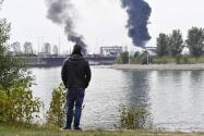 Incendio en dos plantas químicas en Alemania