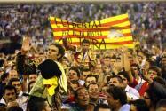 Imágenes de la (pen)última corrida de toros en la Monumental de Barcelona