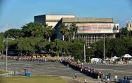El memorial a Fidel Castro en la Habana, en imágenes