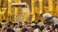 Las imágenes de la salida de la Virgen del Rocío