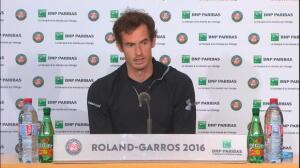 Roland Garros - Murray: ''Una victoria extremadamente importante''