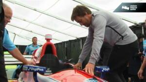 Alonso ya conoce su coche para Indianápolis
