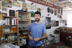 El estudio de Julio Falágan en imágenes