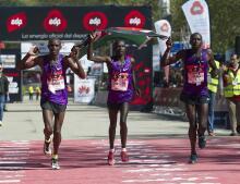 En imágenes: Madrid celebra la 39 edición de su maratón