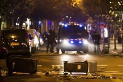 Galería de fotos: tercera noche de disturbios en Barcelona