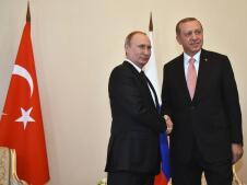El encuentro entre Erdogan y Putin en San Petersburgo