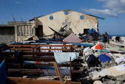 En imágenes: Las consecuencias del paso del huracán Matthew