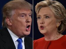 Las imágenes que deja el debate presidencial entre Donald Trump y Hillary Clinton