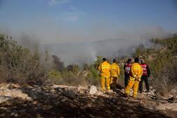 Las espectaculares imágenes de los incendios que asolan Israel