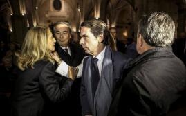 Las imágenes de la misa funeral por Rita Barberá en Valencia