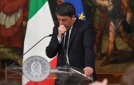 Galería de fotos: la dimisión de Matteo Renzi, en imágenes