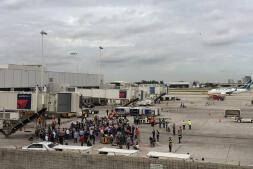 En imágenes: así han sido los tiroteos en el aeropuerto Fort Lauderdale de Florida