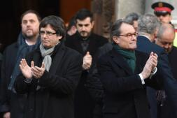 El soberanismo arropa a Artur Mas