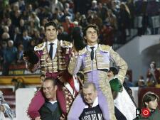 El triunfo de Manzanares y Roca Rey en Olivenza, foto a foto