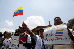 Nueva jornada de protestas de la oposición en Caracas
