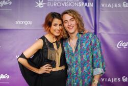 La alfombra roja de la pre-party de Eurovisión celebrada en Madrid