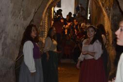 Teatro bajo tierra en La Puebla de Montalbán