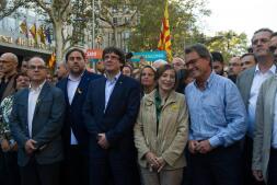 Las imágenes que deja la manifestación de Barcelona