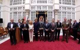 La entrega de los premios Plaza de España, en imágenes