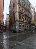 Las imágenes de la nevada en Madrid captadas por nuestros lectores
