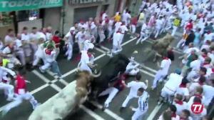 Primer encierro de San Fermín 2016 - Fuente Ymbro