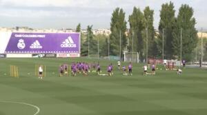 Real Madrid se prepara para el partido contra el Celta