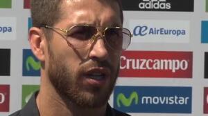 """Sergio Ramos: """"A todos les sorprende que Casillas no esté, pero es una decisión respetable tanto del jugador como del míster"""""""