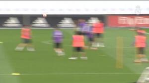 El Real Madrid prepara su encuentro contra el Athletic
