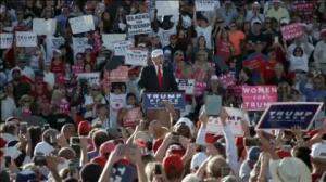 Clinton toma la delantera en la recta final de la campaña en EEUU
