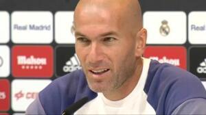 """Zidane sobre los pitos a Cristiano: """"A mí también me pitaron"""""""
