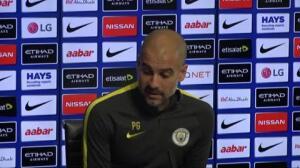 """Guardiola: """"Seguimos haciendo más cosas buenas que malas, pero nos conviene volver a ganar"""""""