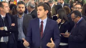 """Rivera asegura que una reforma constitucional haría que """"muchos catalanes se sintieran más partícipes de este proyecto común"""""""