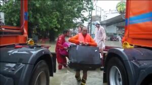 Catorce muertos por las inundaciones en Tailandia