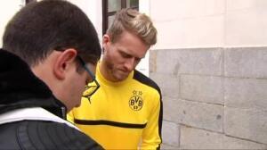 La afición se acerca al Borussia horas antes de su encuentro ante el Real Madrid