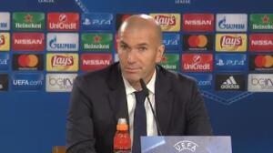 """Zidane: """"Hemos intentado todo para ser primeros y no lo conseguimos"""""""