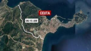 Cerca de 450 inmigrantes saltan la valla de Ceuta en uno de los intentos más masivos desde el 2.000