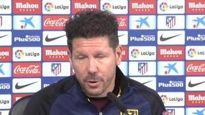 """Simeone: """"Cinco minutos de Tiago en el campo, son muy importantes para el equipo"""""""