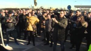 Taxistas se manifiestan contra el intrusismo y el Ayuntamiento