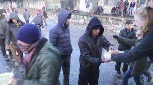 Refugiados congelados: la vergüenza de Europa